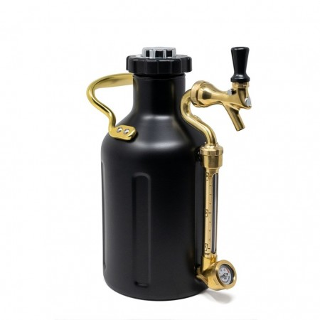 GrowlerWerks uKeg 64 Matte Black (1,9L)
