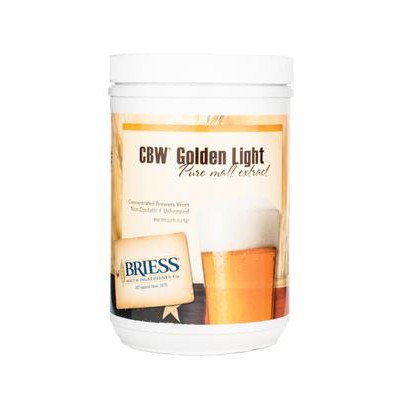 Golden Light Maltekstrakt 1,5kg (9 EBC) - Briess