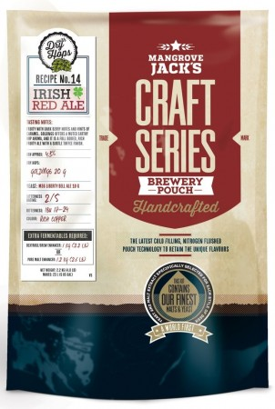 Craft Series Irish Red Ale ekstraktsett - 2,2kg