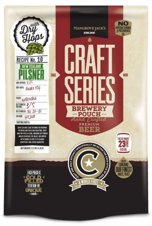 Craft Series NZ Hopped Pils - 2.2kg ekstraktsett