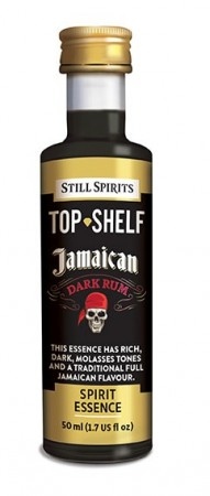 SS Top Shelf Jamaican Dark Rum - 50ml essens