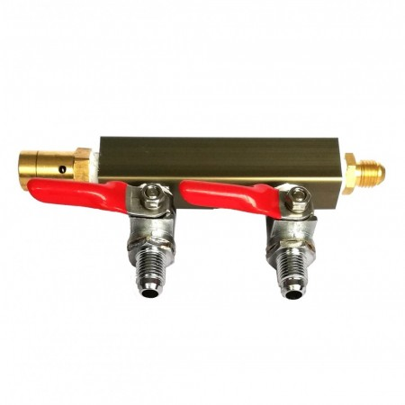 CO2 Manifold - to utganger 1/4