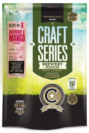 Craft Series Raspberry & Mango Cider ekstraktsett - 2,4kg