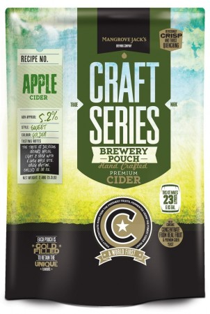 Craft Series Apple Cider ekstraktsett - 2,4kg