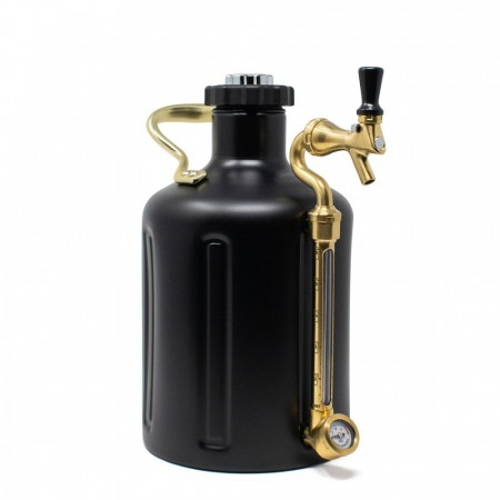 GrowlerWerks uKeg 128 Matte Black (3,8L)