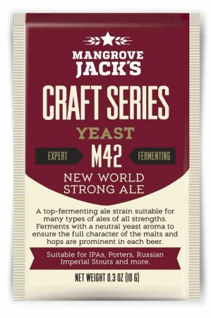 New World Strong Ale Yeast M42 - 10g