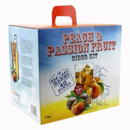 Young´s Peach and Passion Fruit Cider 3,5kg ekstraktsett