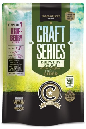 Craft Series Blueberry Cider ekstraktsett - 2,4kg