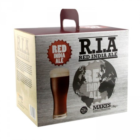 Red India Ale 3,0 kg ølsett ekstrakt