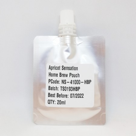 NaturalSensation Aprikos fruktessens - 20ml Homebrew Pouch