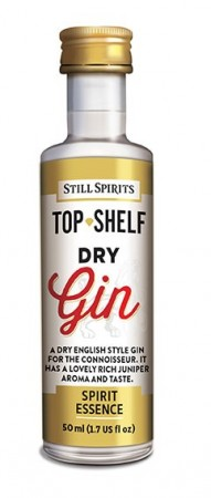 SS Top Shelf Dry Gin - 50ml essens