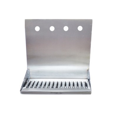 Shank Mounted Drip Tray - 4 kraner - Krome Dispense