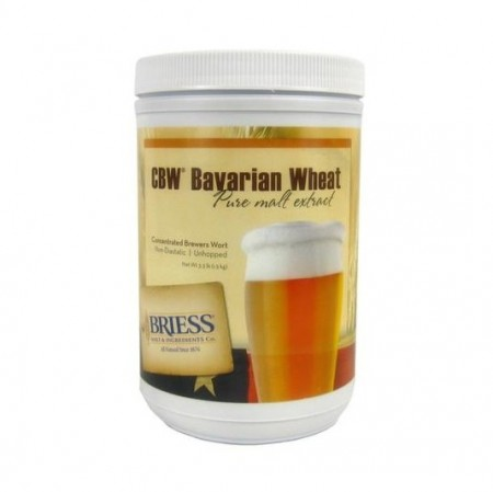 Bavarian Wheat Maltekstrakt 1,5kg (6,5 EBC) - Briess