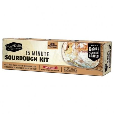 Mad Millie 15 Minute Sourdough Kit - Surdeig