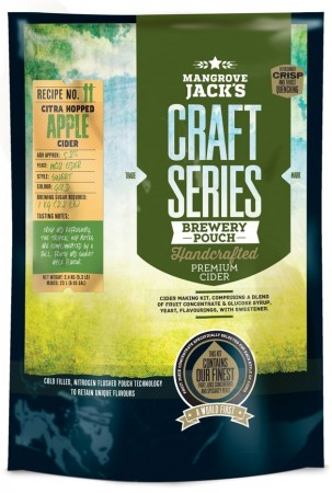 Craft Series Dry Hopped Apple Cider ekstraktsett - 2,4kg