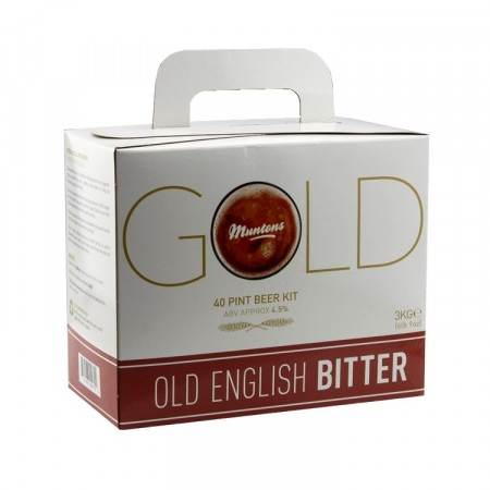 Muntons Gold Old English Bitter 3kg ølsett ekstrakt