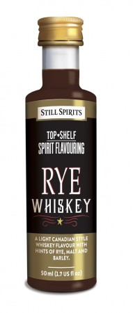 SS Top Shelf Rye Whiskey - 50ml essens