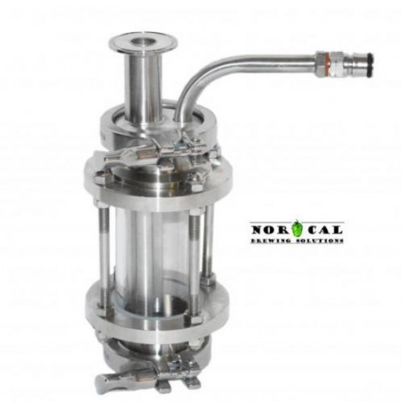 "Yeast Brink 1.5"" TC x 2"" Sight Glass Kit - Norcal"