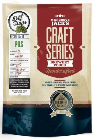 Craft Series Pils with dry hops - 2.2kg ekstraktsett
