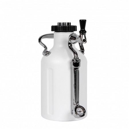 GrowlerWerks uKeg 64 Matte White (1,9L)