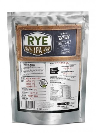 Craft Series Rye IPA (Limited Edition) ekstraktsett - 2kg