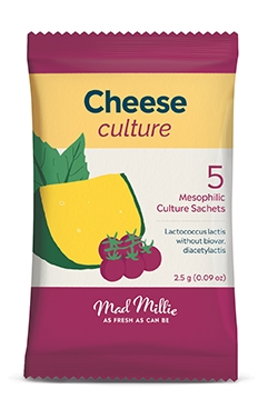 Mad Millie Cheese Culture - Mesophilic Culture (5 poser)