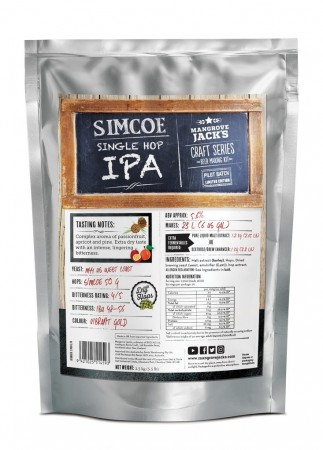 Craft Series Simcoe Single Hop IPA (Limited Edition) ekstraktsett - 2,5kg