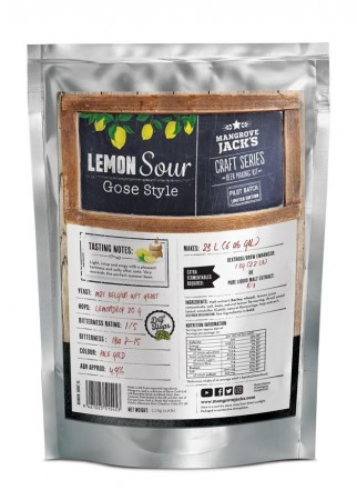 Craft Series Lemon Sour Gose (Limited Edition) ekstraktsett - 2,2kg