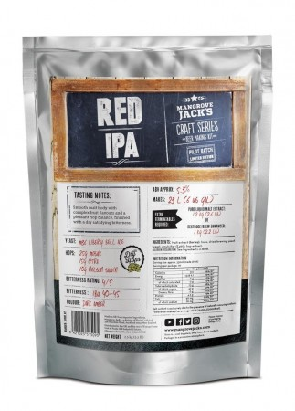 Craft Series Red IPA (Limited Edition) ekstraktsett - 2,5kg