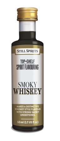 SS Top Shelf Smoky Whiskey - 50ml essens