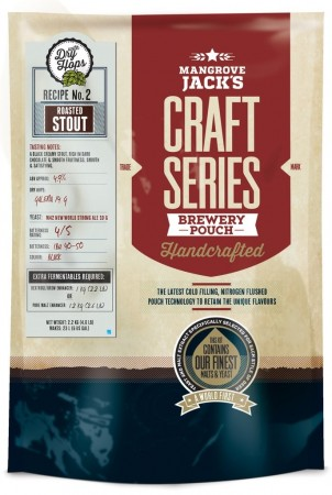 Craft Series Roasted Stout with dry hops ekstraktsett - 2,5kg