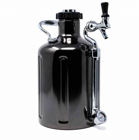 GrowlerWerks uKeg 128 Black Chrome (3,8L)