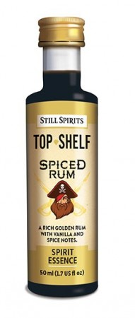 SS Top Shelf Spiced Rum - 50ml essens