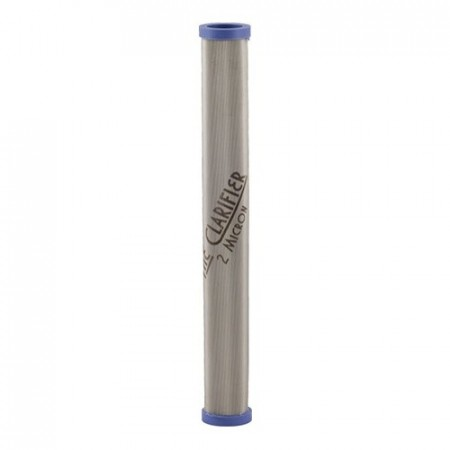 The Clarifier -  2 Micron Stainless Steel Filter