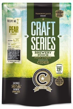 Craft Series Pear Cider ekstraktsett - 2,4kg