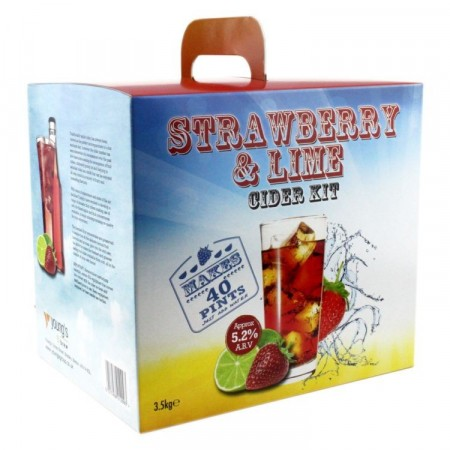 Young´s Strawberry and Lime Cider 3,5kg ekstraktsett