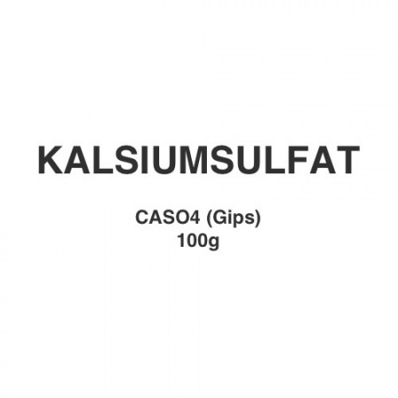 Kalsiumsulfat (gips) 100g