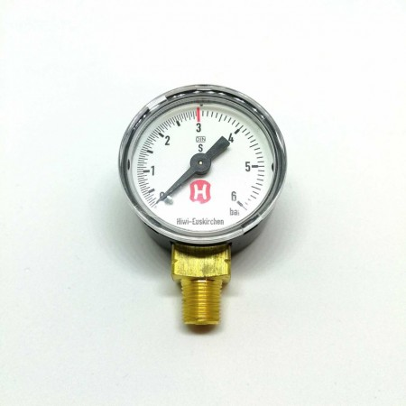 Manometer 3 bar til Hiwi Sodastream regulator