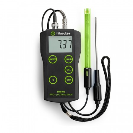 Milwaukee MW102 PRO+  pH meter med utskiftbar probe