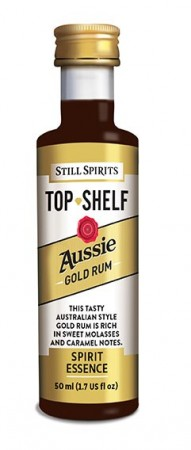 SS Top Shelf Aussie Gold Rum - 50ml essens