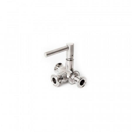 Treveis ventil, 34mm Tri-Clamp - Brewtools