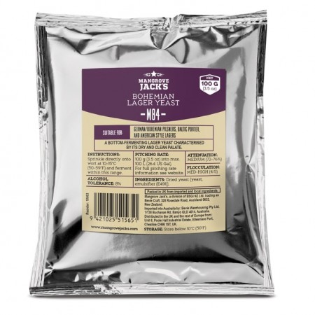 Bohemian Lager Yeast M84 - 100g