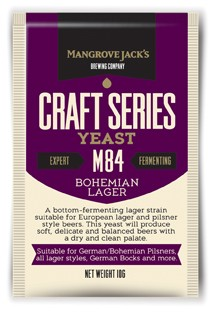Bohemian Lager Yeast M84 - 10g