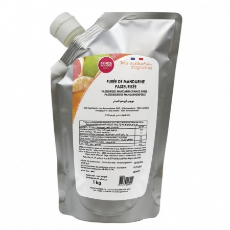 Mandarinpuré 1kg - Fruits Rouges & Co