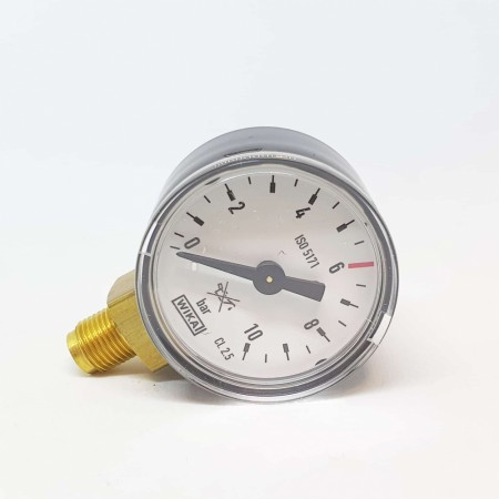 Manometer 0-10 bar - Oxyturbo