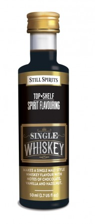 SS Top Shelf Single Whiskey - 50ml essens