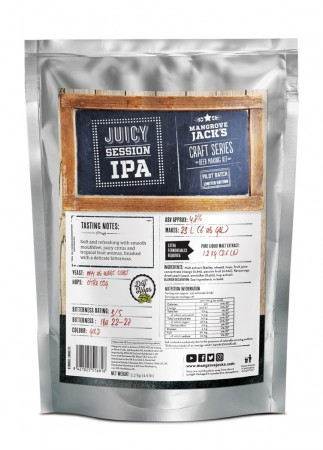 Craft Series Juicy Session IPA ekstraktsett - 2,2kg