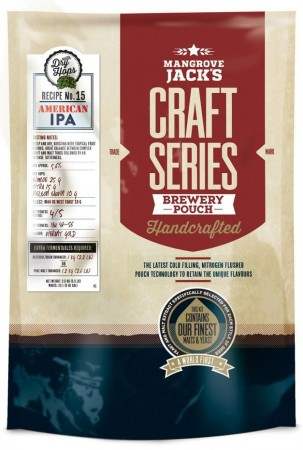 Craft Series American IPA with dry hops ekstraktsett - 2,5kg