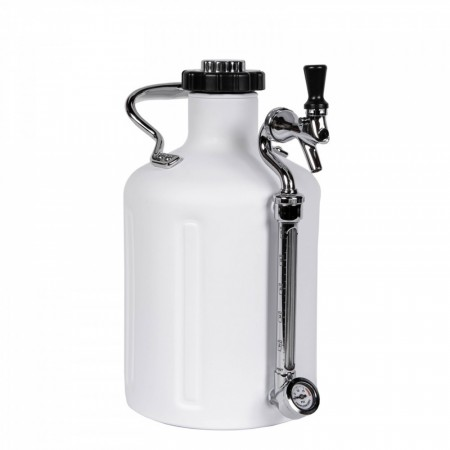 GrowlerWerks uKeg 128 Matte White (3,8L)