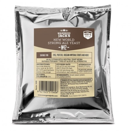 New World Strong Ale Yeast M42 - 100g